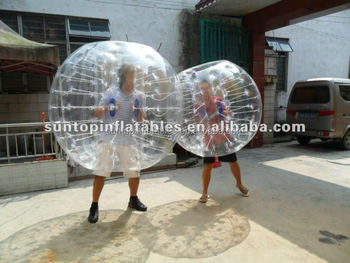 Inflatable PVC/TPU bumper ball with the best quality
