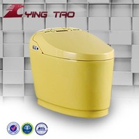 Smart S-trap/P-trap Floor Mounted Toilet Bathroom Ceramic WC Toilet Concealed Tank