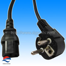germany type ac power plug with power cable to C13