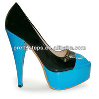 Pretty Steps Ladies New Arrival High Heel Shoes Beauty Heel Shoes 2013 Women Platform Dress Shoes