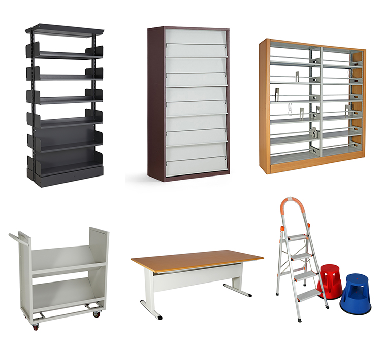 Hot Sale Aaa Quality Movable Shelf Library Furniture Steel