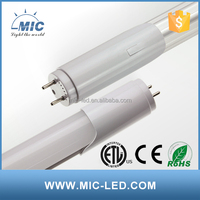 Experience factory waterproof six t8 4ft led tube light fixture 18-19w