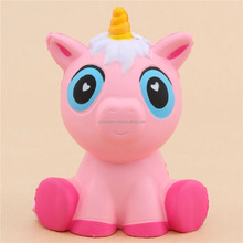 Squeeze squishy unicorn toys with scents