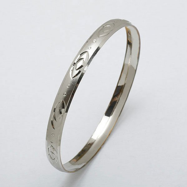 silver bracalet bangle
