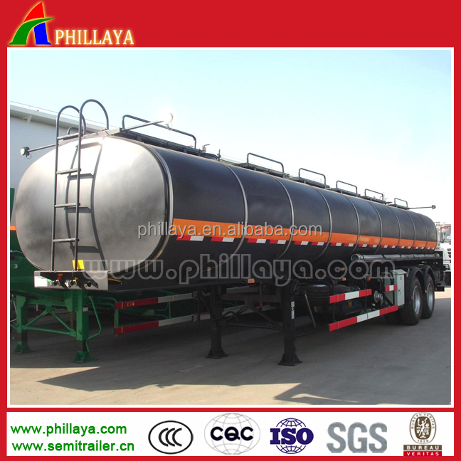 20000 litre two axles hot sale air suspension system water tank semi trailer