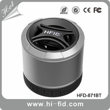 HI-Fid mini bluetooth Speakers with Subwoofer support TF FM function work for headset