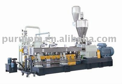 Twin screw Extrusion machine/double screw extruder/plastic recycling line