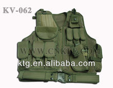 Factory direct sales tM ilitary Assault Vest Army Green Paintball VestTactcial net ves