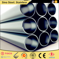 seamless tube drinking water pipe stainless steel with high quality