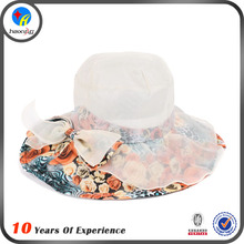 Fashion Ladies Wide Brim Summer Promotional Cheap Beach Hat