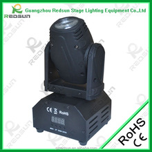 Mini moving head light austria led lights for crafts stage show decoration