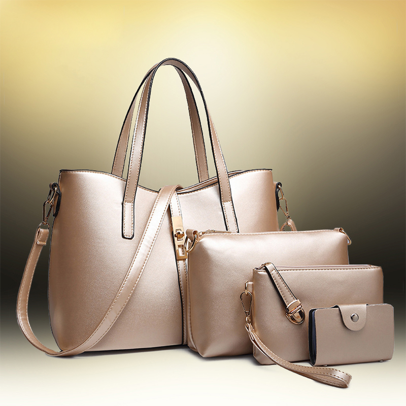 A new bag of women's handbags in 2017 will be a collection of four PC bags women handbags