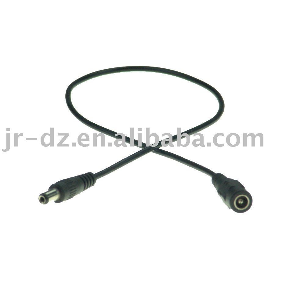 12v dc male&dc female cable