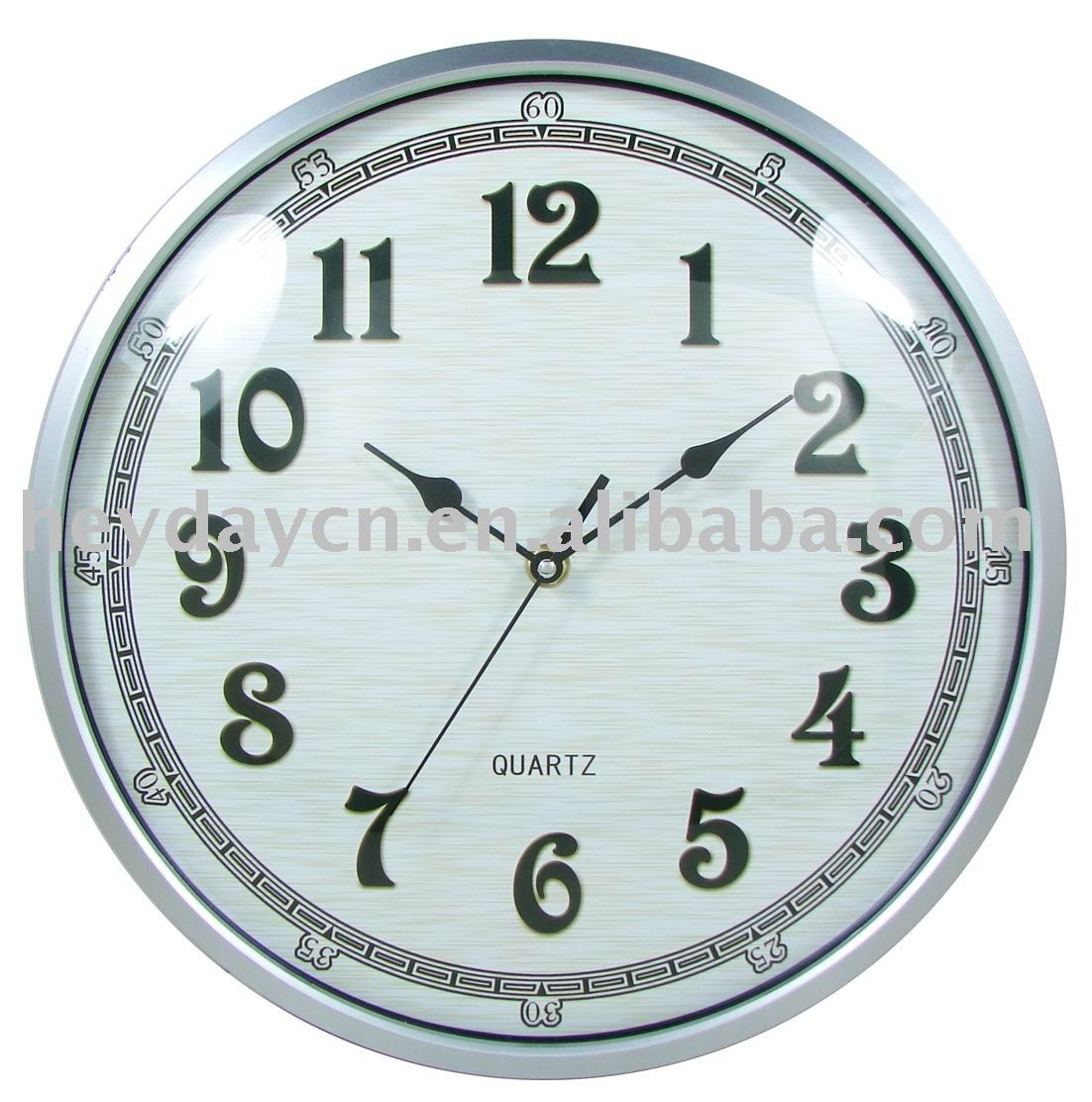 glass globe clock (HN-8847)