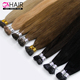 GS colored 100 remy human itip hair extensions for white,China wholesale remy human hair extension itip/utip hair