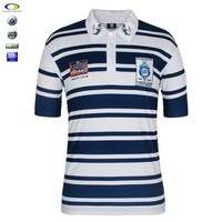Cheap Fashionabal wholesale OEM Guangzhou Men Striped Polo Shirt