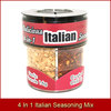Delicious 4 In 1 Spice Jar With Italian Seasoning Mix 8 Collections Exporting to USA UK Australia