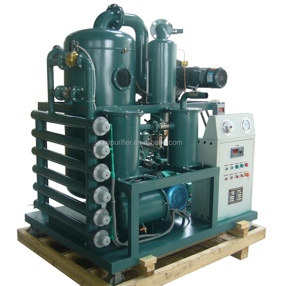 transformer oil purification/used engine oil recycling machine in india