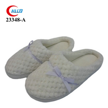 wholesale sexy comfortable ladies white indoor slipper shoes