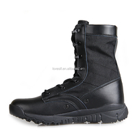 Super light tactical outdoor military boots in 2016 design