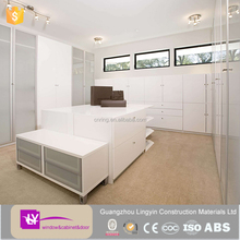 modular MDF lacquer bedroom wall wardrobe design modern style