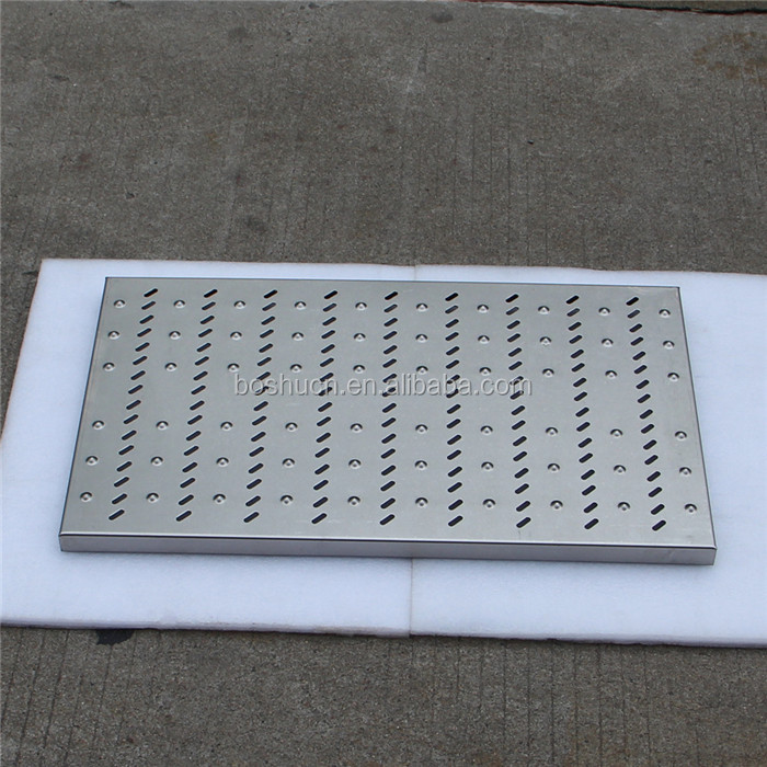 D400 stainless steel floor grill drains gully grating