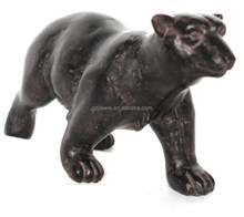 wholesale african table decorations resin black bear figurines