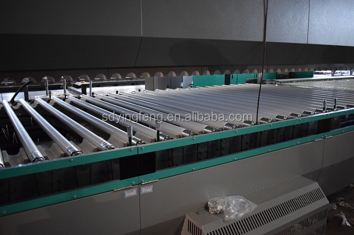 JFG2436 High quality toughened Low-E  Glass Tempering Machinery with convenction