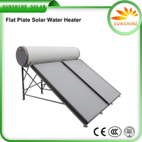 New Design Non Pressure Panel Solar Water Heater Electric Instantaneous Water Heater