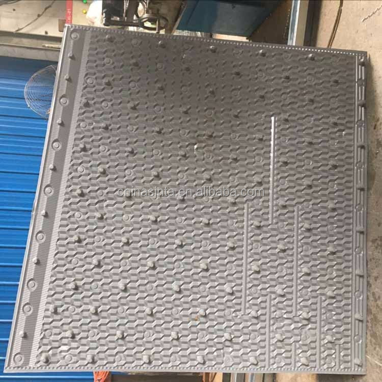 Closed cooling tower pvc sheet 950mm cooling tower filler