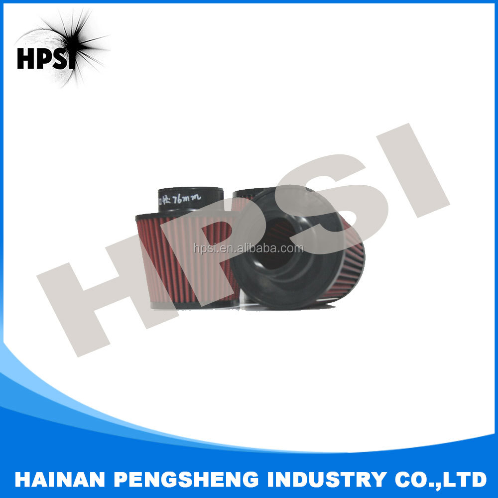 Air Intake System, Universal Air Filter with 60/63/70/76/89 mm