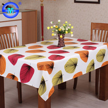 Waterproof printed pvc table cloth factory plastic table cloths for wedding party