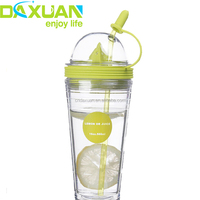 Wholesale 16oz BPA Free Plastic Double