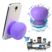 Mushroom Mini Wireless Bluetooth Speaker Silicone Waterproof Sucker Hands Free Speakers For Apple Android Devices PC Computer