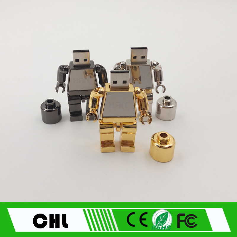 CS-C15 Cheap Creative Gift Cool Robot USB flash drive
