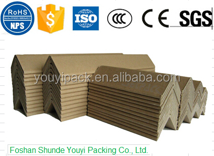 Factory wholesale Customized Cardboard Paper Pulp Molded Protective Corner Protector