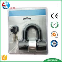 High quality bicycle mini U lock, small bike lock, best bike lock review