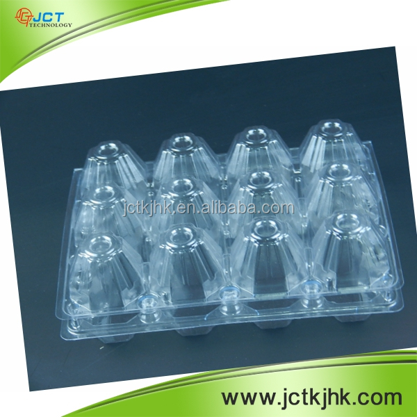 High quality plastic transparent packaging porcelain quail egg tray