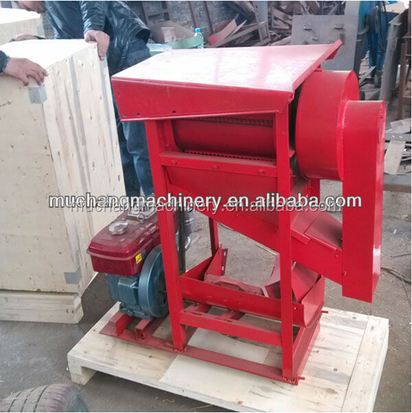 Zhengzhou muchang small rice threshing machine