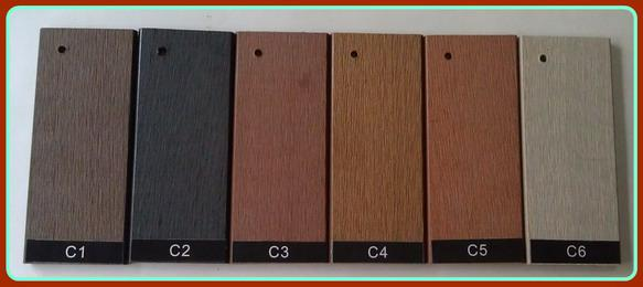 china alibaba supplier for waterproof and eco-friendly wpc wood grain decking board