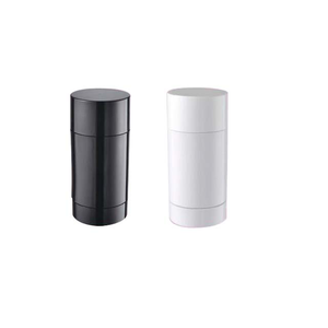 Transparent 30g 50g 75g stick foundation cosmetic container colored plastic deodorant stick bottle