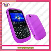 Cheap mobile phone silicone case for blackberry 8520