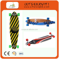 2013 New Design Christmas gift canadian maple skateboard with LED light