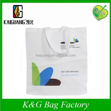 Custom printed trade show canvas tote bag
