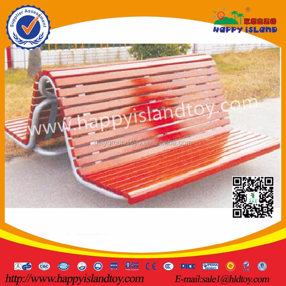 2017 Hot Sale Recycled Plastic Outside Patio Furniture Park Benches