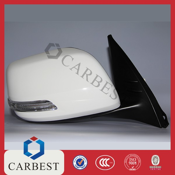 High Quality Hot Selling Car Side Mirror With Light for Toyota Prado 2014