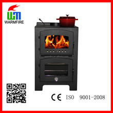 Model WM203S-1100 Indoor wood burning cook stove with oven