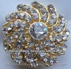 Fashion wedding party wear jewelery brooches exporter, fashion Bridal party jewellery brooches manufacturer