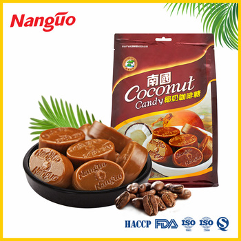 Sweet Coconut Milk Coffee Hard Candy/Coconut Flavored Hard Candy