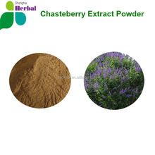 Factory Chasteberry Extract / Chaste Tree Berry Extract Powder / Vitex agnus-castus, bulk supply
